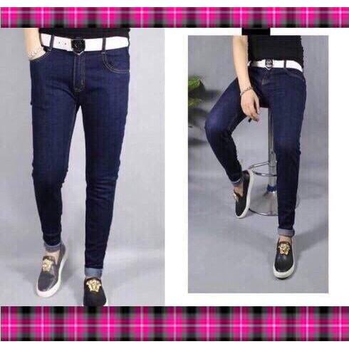 Quần Jean Nam Ống Côn Trẻ Trung Phong Cách,quần jean nam rách đẹp