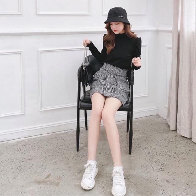 Chân váy Tweed Tí Ngoan
