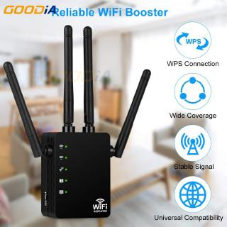 ✿[IN STOCK] ✿1200Mbps Dual-Band 2.4 WIFI Range Extender WiFi Repeater Wireless Home Network