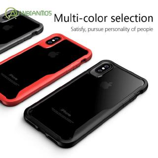 Apple Phone Case Clear Full Protective Anti-Scratch Resistant Back Bumper Hard Back Phone Shell for