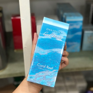 Nước hoa Full Nam DAVIDOFF - COOL WATER CORAL REEF - EDT - 125ML
