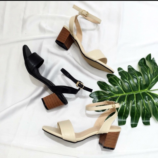 Giày Sandal quai mảnh 5cm