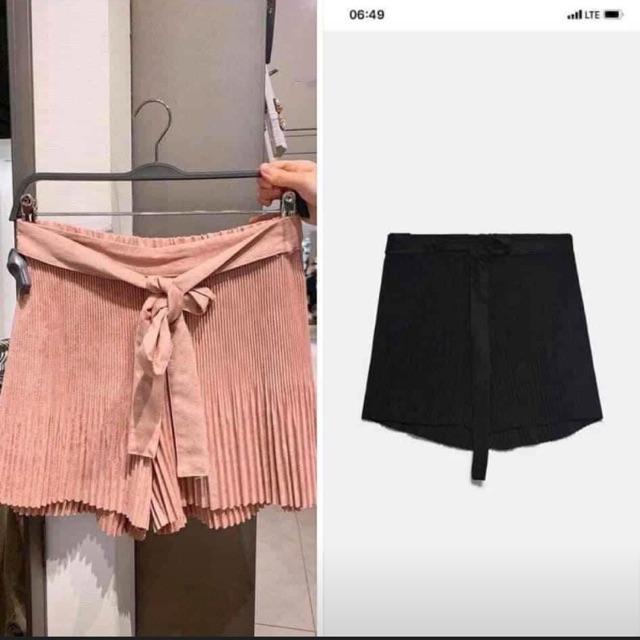 Chân váy đen Zara