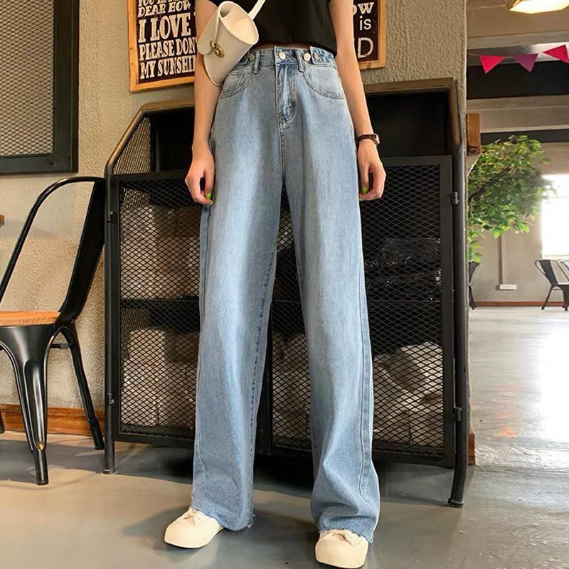 [ order ] quần jean ống xuống ulzzang