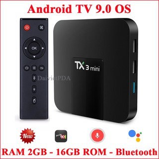 Hình ảnh Android Tivi Box TX3 mini - Android TV OS 9.0 , Bluetooth