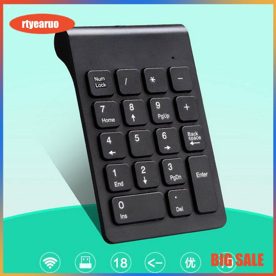 Bàn phím số không dây Bluetooth Simple Wireless Keyboard Multifunctional Computer Hand-held Touchpad Keyboard
