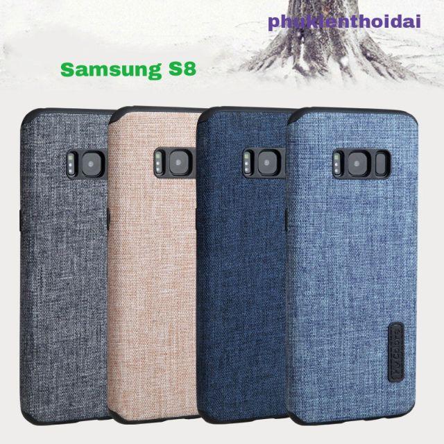 Samsung Galaxy S8 Ốp Lưng vải Hiệu My Colors Cao Cấp ( siêu đẹp )