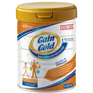 Sữa bột Fidicare Gain Gold 900g