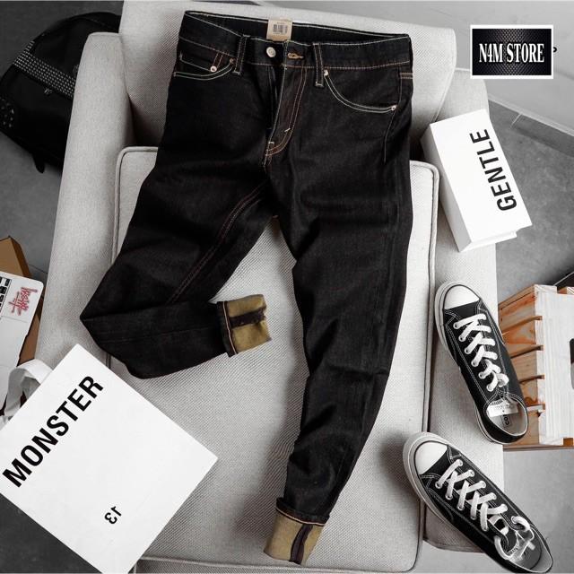 Quần Jeans Nam dài , quần bò ống đứng co dãn mềm n4mstore