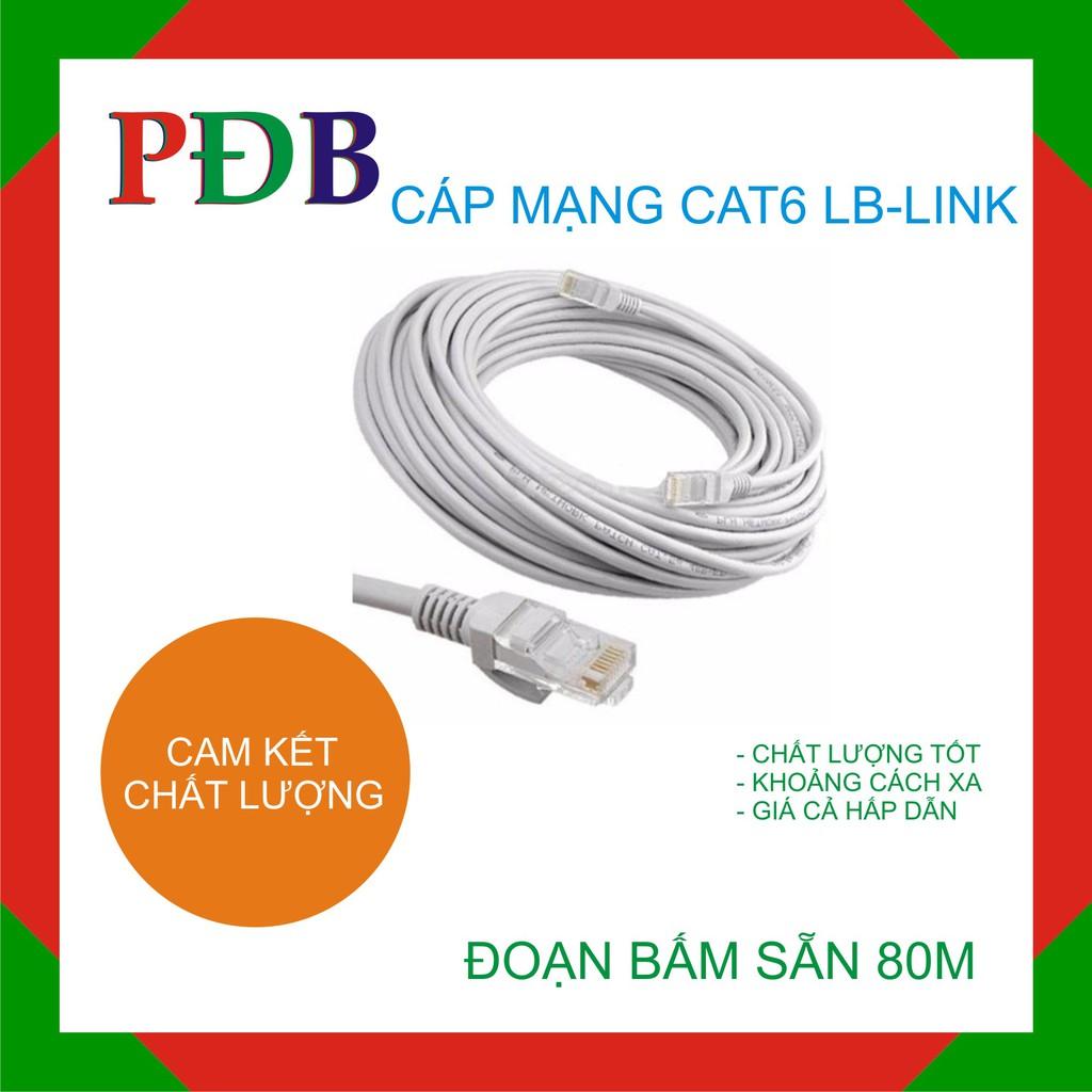 Đoạn dây mạng LB-LINK Cat6 80m