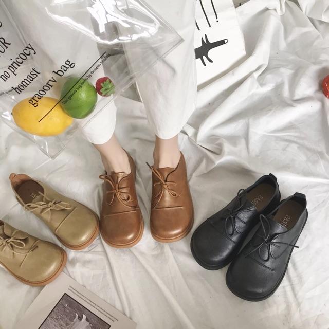 (SẴN N) Giày ulzzang phong cách Hàn Quốc- Rất dễ phối với Quần- Kèm video và ảnh thật