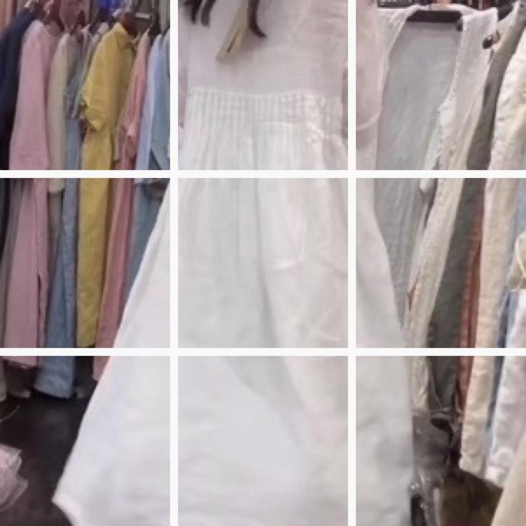 Bộ Áo Dài Tay + Chân Váy Xinh Xắn Dành Cho Nữ / Size Lớn 23
