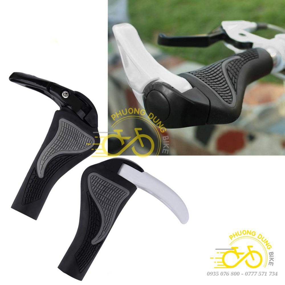 Tay nắm mềm sừng trâu chống mỏi xe đạp
