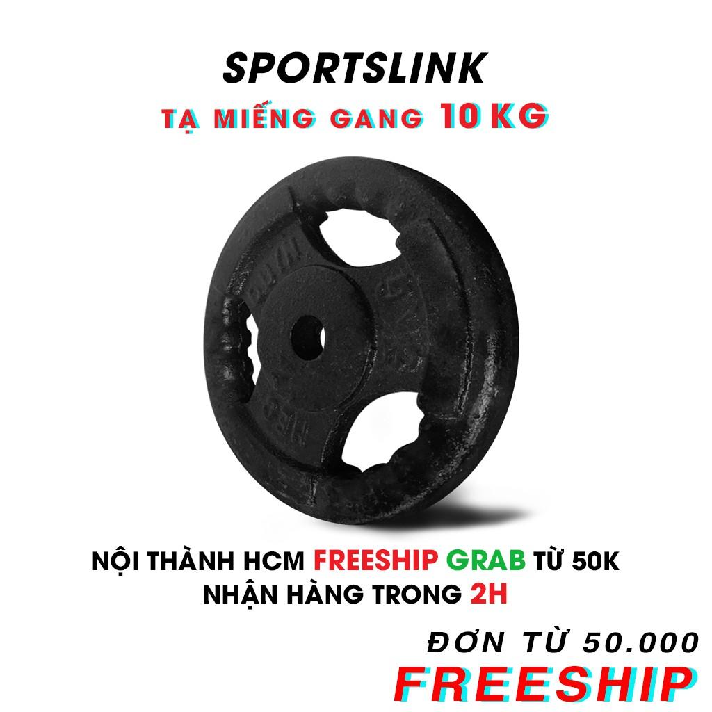 [ FREESHIP ] Tạ MIẾNG gang 10kg (Đen)