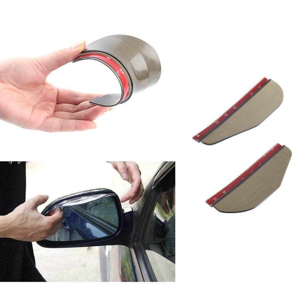 Miếng bảo vệ, ngăn nước, chắn mưa, thích hợp gắn trên kính chiếu hậu