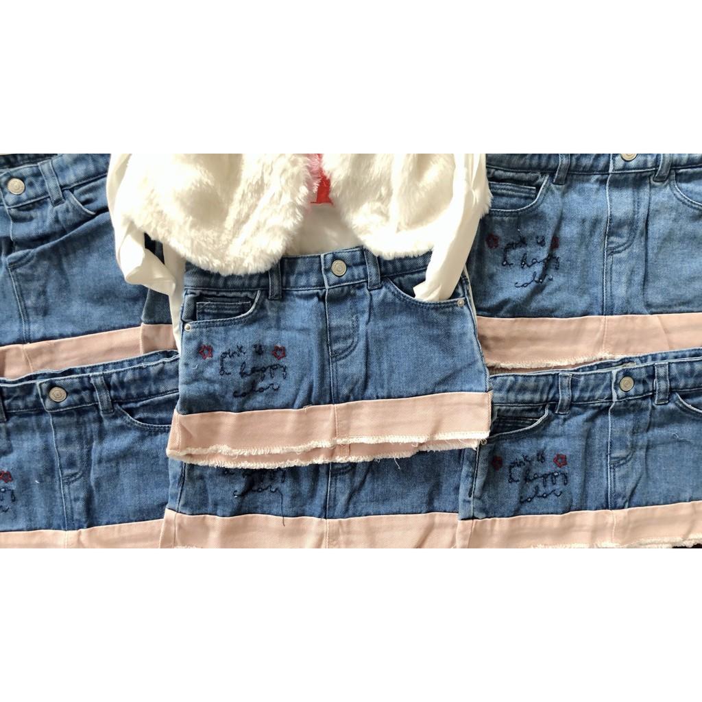 Q191130- Chân váy bò Zara baby nhí