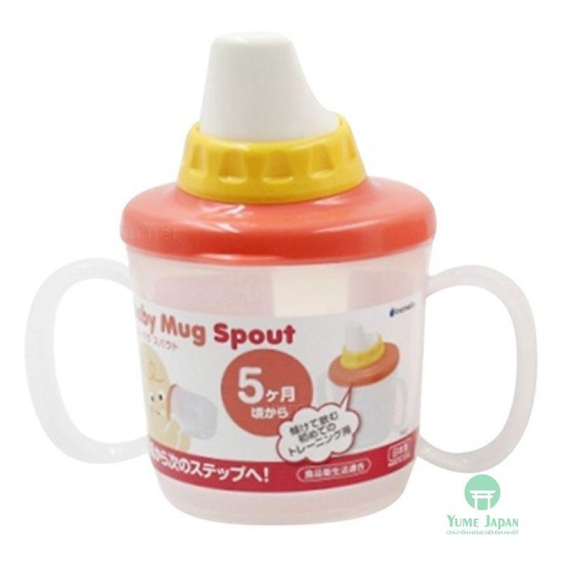 Bình tập uống cho bé có vòi hút 230ml xuất xứ Nhật Bản (made in Japan)