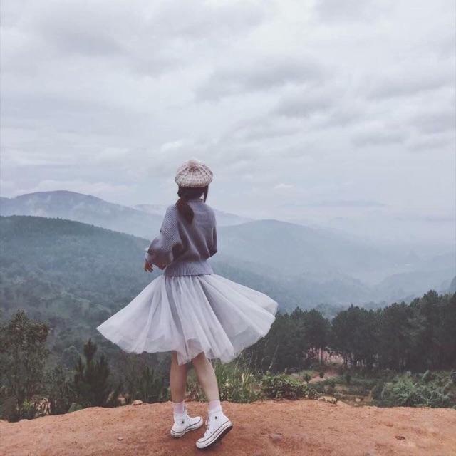 Chân váy công chúa 3 lớp