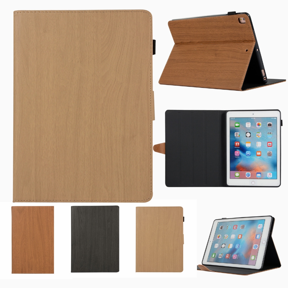 Hình ảnh Cover of Ipad 2019 wooden protection 9.7 inch mini 5 air 3 leather Case