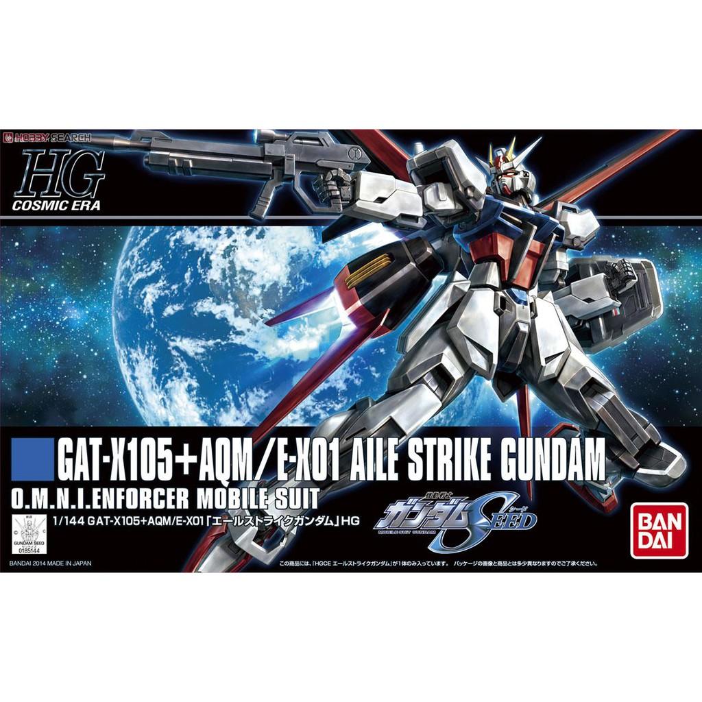 Mô Hình Lắp Ráp Gundam HG CE Aile Strike