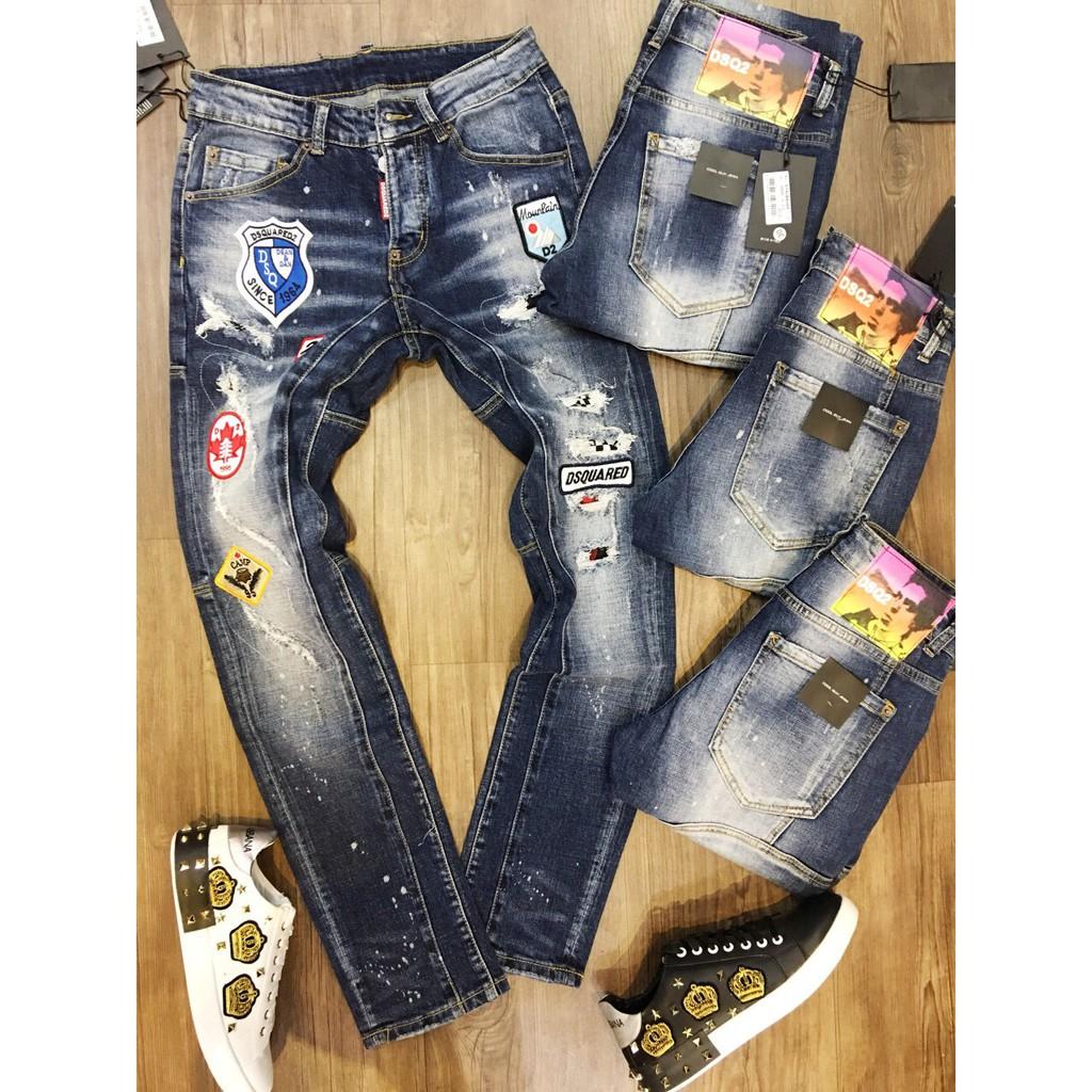 [Max sale] Quần Jean thời trang DSQ - cảm ơn quý khách đã tin chọn