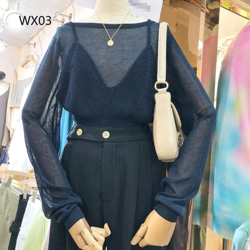 Bộ áo thun + quần dài phong cách Hàn Quốc thời trang cho nữ