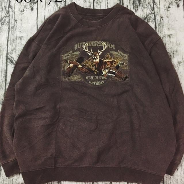 Áo sweater nỷ Mỹ
