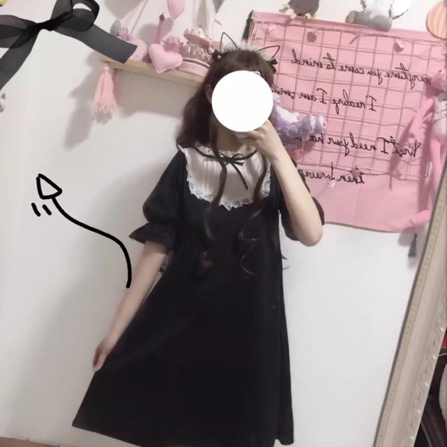 Đầm lolita đen
