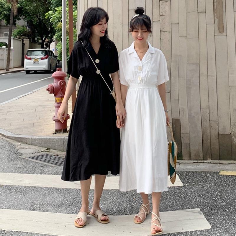 Chân Váy Ngắn Màu Trơn Thời Trang Hàn Quốc