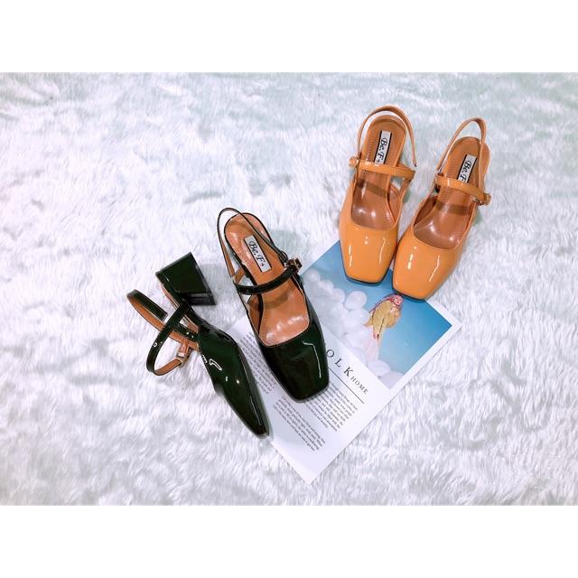 Giày sandan hở gót
