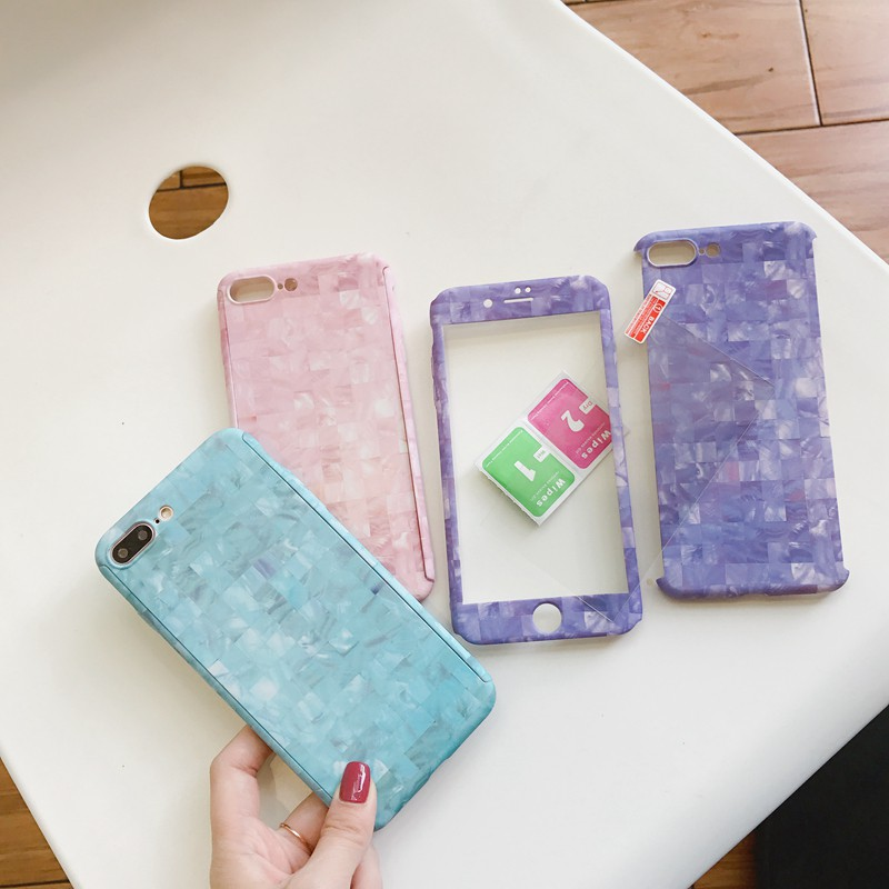 Ốp lưng full cover cho iPhone X iPhone 8 7 6 6s plus
