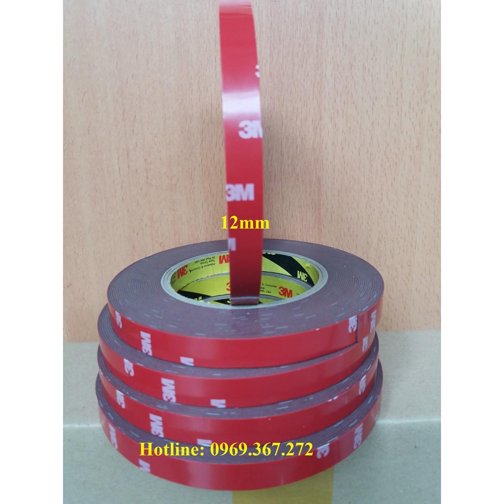 Băng keo 2 mặt 3M 4229P 12mm X 10m