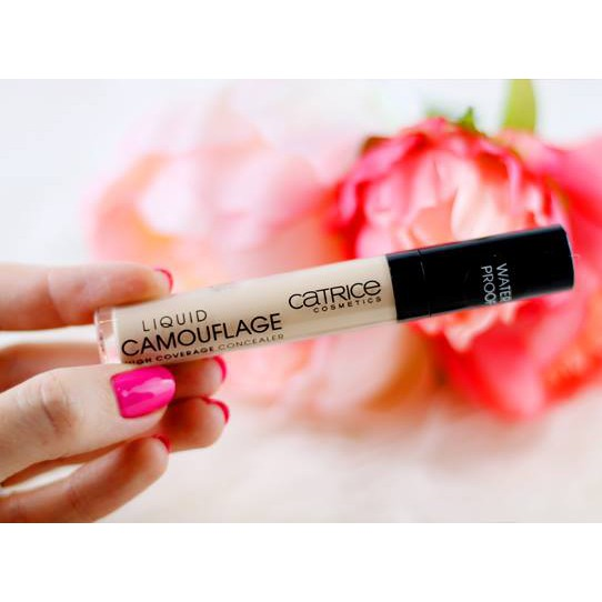 Che khuyết điểm Catrice Liquid Camouflage High Coverage Concealer