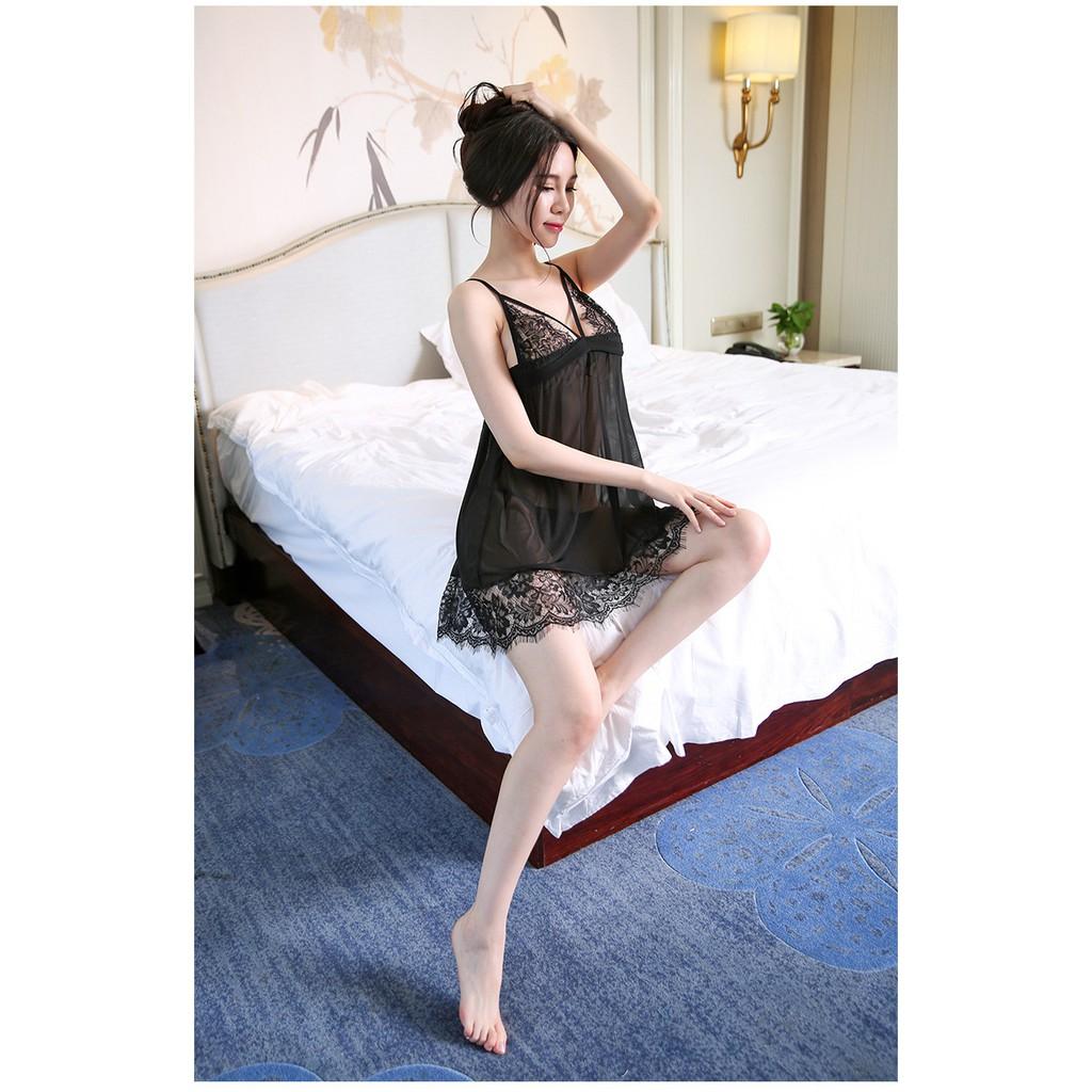 Váy Ngủ Voan Ren Gợi Cảm AN58