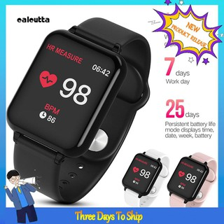 CALLEMFO B57C Smart Watch Clock Alarm Fitness Heart Rate Blood Pressure Monitor