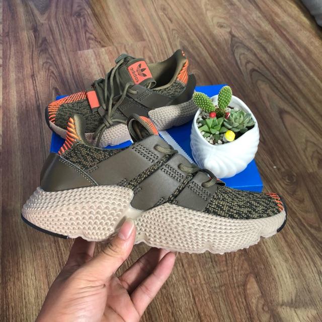 [ Ảnh Thật ] Giày Adidas Prophere Màu Rêu Nam Nữ