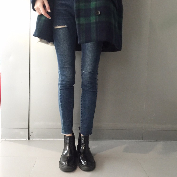 Quần Jeans Nữ Ulzzang