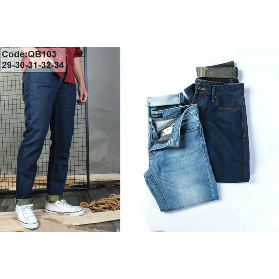 Combo 1 áo khoác jans nữ + 1 quần jeans nam ống rộng