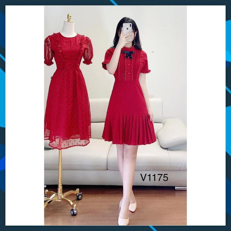 [ĐÀM ĐẸP] Váy (đầm) dự tiệc thiết kế maggo Nhật mềm mịn không bai,không xù thấm hút tốt V1175 Mie Design kèm ảnh thật