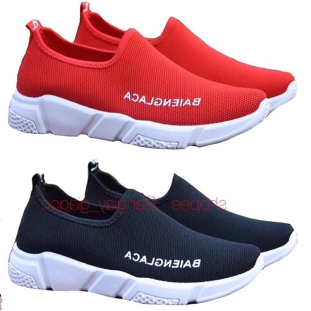 Giày lười độn đế LOẠI 1 vải dày full size 35 - 39 Mã 142
