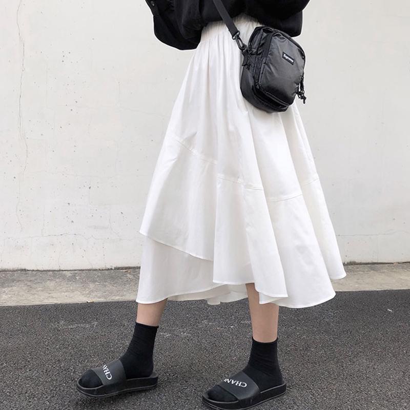 Chân Váy Dài Thiết Kế Lệch Tà Thời Trang Mùa Hè 2020 Cho Nữ