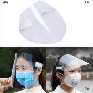 alialimama 🔥 Full Face Protect Anti Saliva Dust-proof Safety Clear Protection Face