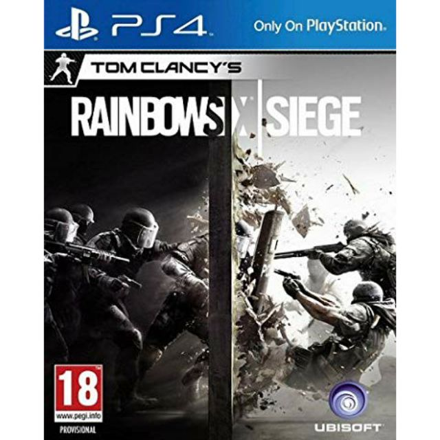 Game PS4 : Rainbow six siege