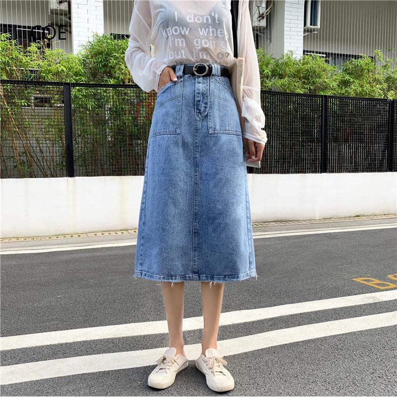 Chân Váy Jean Ngắn Thời Trang Nữ Tính