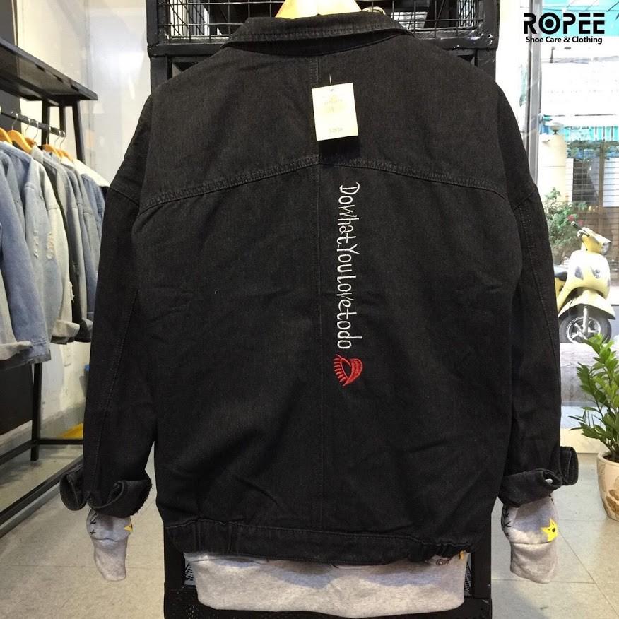 (HOÀN TRẢ,ĐỔI TRONG 7 NGÀY)áo khoác jean rẻcao cấpxem nhiều mẫu hơn trong shop