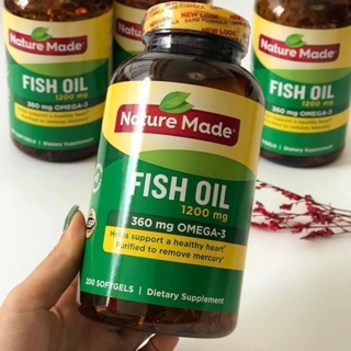 🐠NATURE MADE FISH OIL 1200MG
