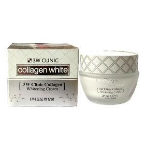 Kem dưỡng trắng chống lão hóa Collagen Whitening 3W Clinic 60ml