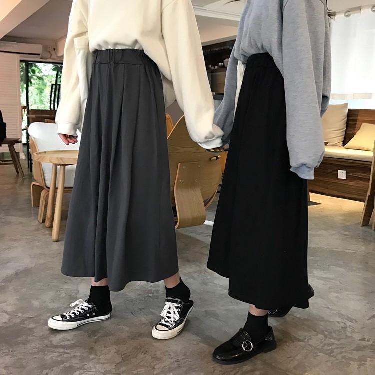 Chân Váy Chữ A Lưng Cao Thời Trang Nữ Tính