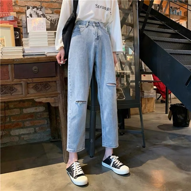 [GOM ORDER 10-15 NGÀY] Quần Jeans style ullzang