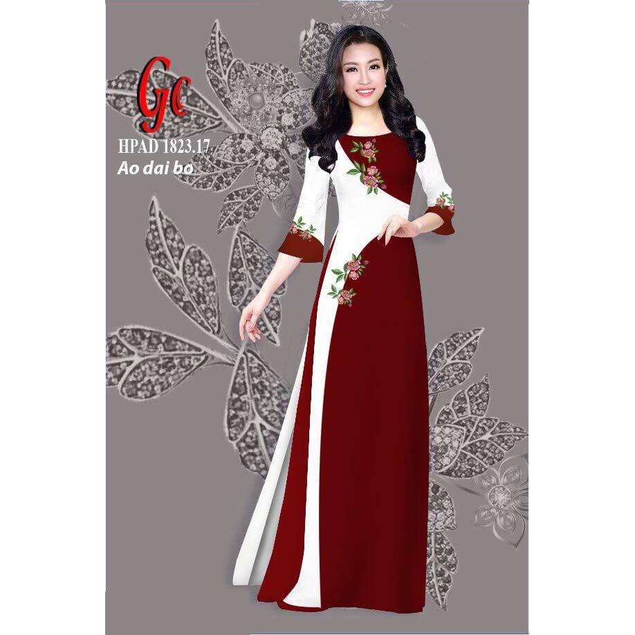 Vải áo dài tằm Thái